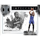 2016/17 Panini Impeccable Basketball 3 Box Case