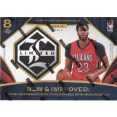 2016/17 Panini Limited Basketball Hobby 12 Box Case