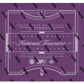 2016/17 Panini National Treasures College Basketball Box