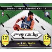 2016/17 Panini Prizm Basketball Jumbo 12 Box Case