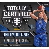 2016/17 Panini Totally Certified Basketball Hobby 16 Box Case