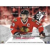 2016/17 Upper Deck SPx Hockey Hobby 10 Box Case