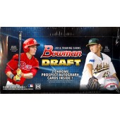 2016 Bowman Draft Baseball Jumbo 8 Box Case