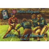 2016 Historic Autograph Art of Football Box
