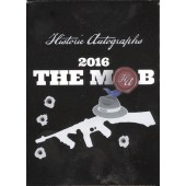 2016 Historic Autographs The Mob Premium Set 60 Box Case