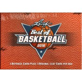 2016 Leaf Best of Basketball 3 Box Case