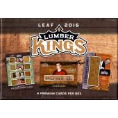 2016 Leaf Lumber Kings Hockey 10 Box Case
