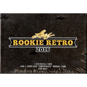 2016 Leaf Rookie Retro 5 Box Case