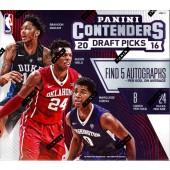 2016 Panini Contenders Draft Picks Basketball Hobby 12 Box Case