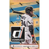 2016 Panini Donruss Baseball Hobby 16 Box Case
