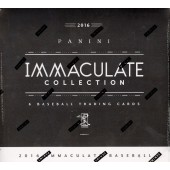 2016 Panini Immaculate Baseball Hobby 8 Box Case