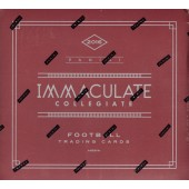 2016 Panini Immaculate Collegiate Football Hobby Box