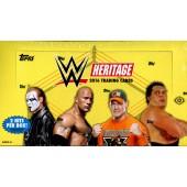 2016 Topps WWE Heritage Wrestling Hobby 12 Box Case