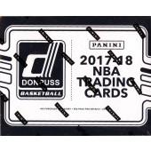 2017/18 Panini Donruss Basketball Fat Pack 12 Box Case