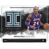 2017/18 Panini Impeccable Basketball Box