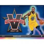 2017/18 Panini Vanguard Basketball Hobby 6 Box Case
