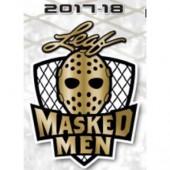 2017/18 Leaf Masked Men Hockey Box