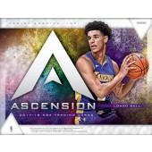 2017/18 Panini Ascension Basketball Hobby 12 Box Case