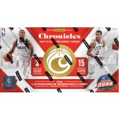 2017/18 Panini Chronicles Basketball Hobby Box