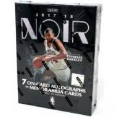 2017/18 Panini Noir Basketball Hobby 4 Box Case