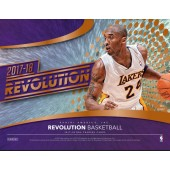 2017/18 Panini Revolution Basketball Hobby 8 Box Case