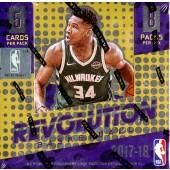 2017/18 Panini Revolution Basketball Hobby 8 Box Case
