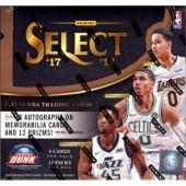 2017/18 Panini Select Basketball Hobby 12 Box Case