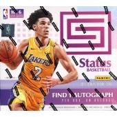 2017/18 Panini Status Basketball Hobby 20 Box Case