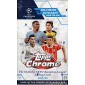 2017/18 Topps UEFA Champions League Chrome Soccer 12 Box Case