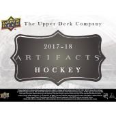 2017/18 Upper Deck Artifacts Hockey Hobby 20 Box Case