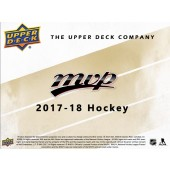 2017/18 Upper Deck MVP Hockey 20 Box Case