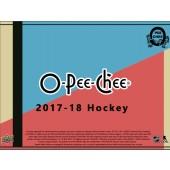 2017/18 Upper Deck O-Pee-Chee Hockey Hobby 12 Box Case