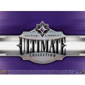 2017/18 Upper Deck Ultimate Collection Hockey Hobby 8 Box Case