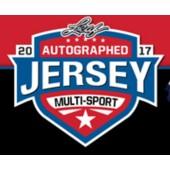 2017 Leaf Autographed Jersey Multi-Sport Edition Box