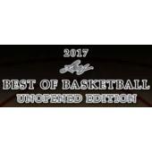 2017 Leaf Best of Basketball Unopened Edition 6 Box Case