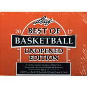2017 Leaf Best of Basketball Unopened Edition 6 Box Case