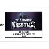 2017 Leaf Buyback Wrestling 5 Box Case