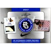 2017 Leaf Perfect Game National Showcase Baseball 15 Box Case