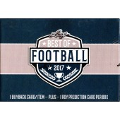 2017 Leaf Best of Football Box