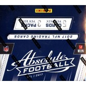 2017 Panini Absolute Football Hobby 10 Box Case