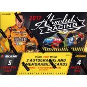 2017 Panini Absolute Racing Hobby 14 Box Case