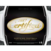 2017 Panini Certified Football Hobby 24 Box Case