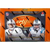 2017 Panini Certified Football Hobby 24 Box Case