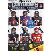 2017 Panini Contenders Football Blaster 20 Box Case