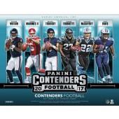 2017 Panini Contenders Football Hobby 12 Box Case