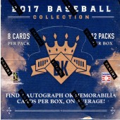 2017 Panini Donruss Diamond Kings Baseball Hobby 24 Box Case