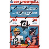 2017 Panini Donruss Football Hobby 18 Box Case