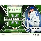 2017 Panini Elite Extra Edition Baseball Hobby 20 Box Case