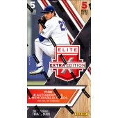 2017 Panini Elite Extra Edition Baseball Hobby Box