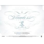 2017 Panini Flawless Baseball Hobby 2 Box Case
